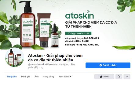 fanpage Atoskin
