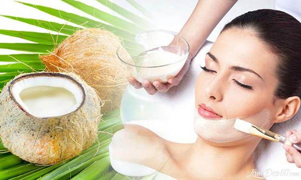 chữa bệnh chàm da bằng dầu dừa