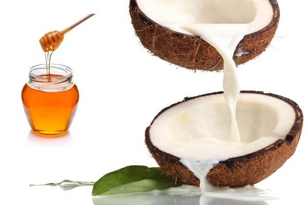 kết hợp dầu dừa với mật ong chữa bệnh chàm